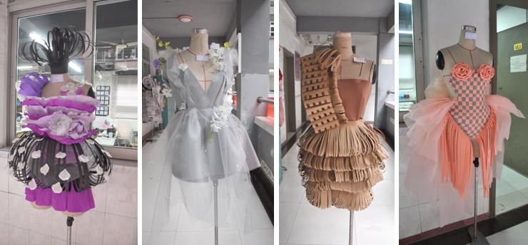 香港服裝學院舉行服裝創意設計作品展覽